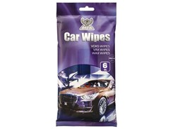 Basta Car Wipes Easy Shine Wax Giga, 6 stk