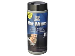 Basta Car Wipes Ruderens, 40 stk