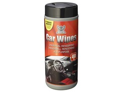 Basta Car Wipes Allround, 40 stk